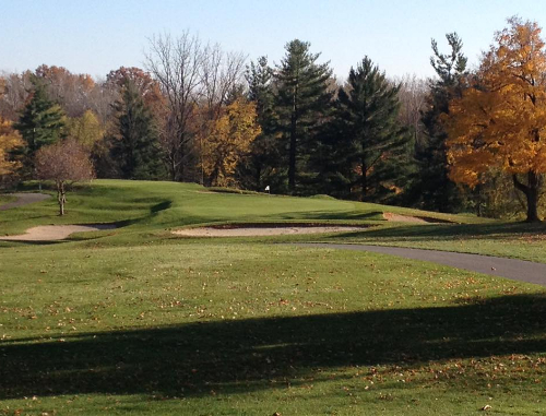 A hole at Lenawee Country Club