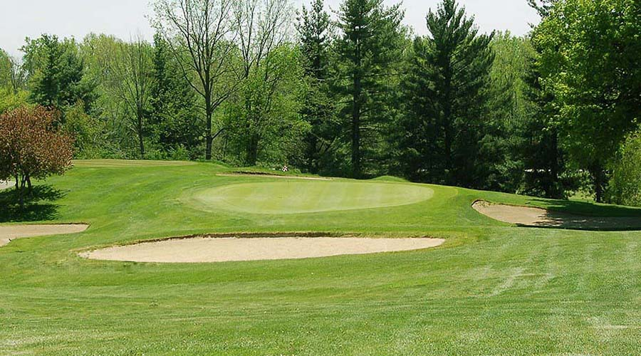 hole 17 at lenawee country club