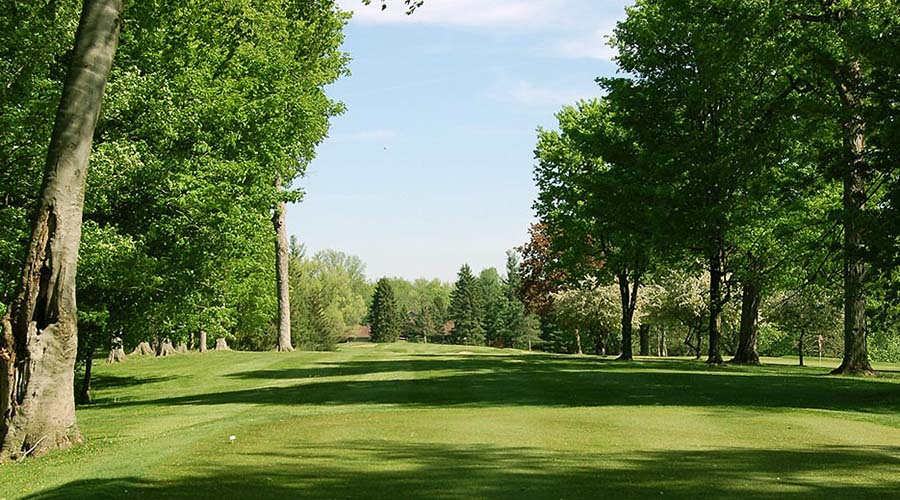 hole 5 at lenawee country club